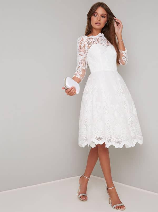 Chi Chi London - Flora Dress - Robe de mariée pas cher - The Wedding Explorer