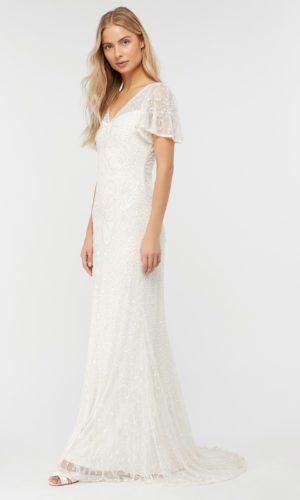 MONSOON - ROBE DE MARIÉE LONGUE EMBELLIE HELENA - Robe de mariée pas cher - The Wedding Explorer