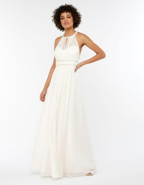 MONSOON - ROBE DE MARIÉE GRECQUE EMBELLIE ELEANOR - Robe de mariée pas cher - The Wedding Explorer