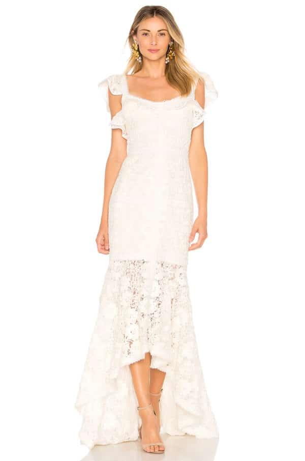 Revolve - Robe de mariée ZANDER - Robe de mariée pas cher - The Wedding Explorer