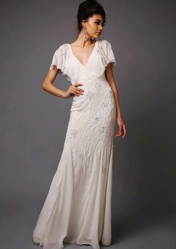 Virgos Lounge - Beatrice Wedding Dress - Robe de mariée pas cher - The Wedding Explorer