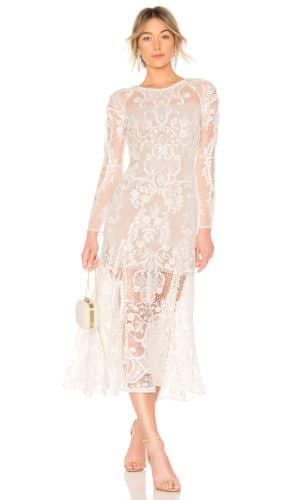 Revolve - Robe de mariée BOHO BRIDAL - Robe de mariée pas cher - The Wedding Explorer