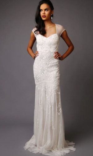Virgos Lounge - Charlotte Wedding Dress - Robe de mariée pas cher - The Wedding Explorer