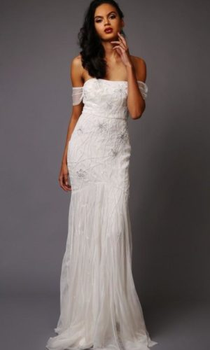 Virgos Lounge - Dominique Wedding Dress - Robe de mariée pas cher - The Wedding Explorer
