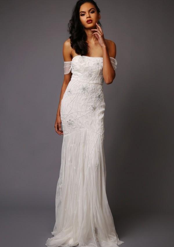 Virgos Lounge - Dominique Wedding Dress - Robe de mariée pas cher - The Wedding Explorer