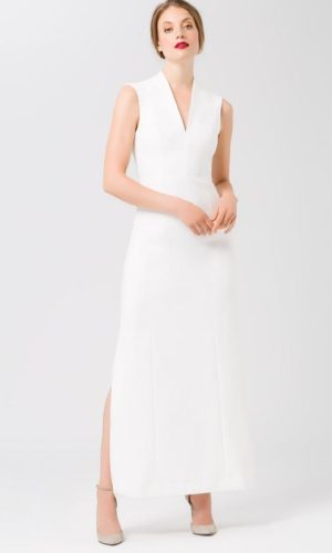 IVY & OAK - HIGH COLLAR EVENING DRESS - Robe de mariée pas cher - The Wedding Explorer