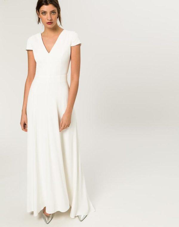 IVY & OAK - BRIDAL CAP SLEEVE DRESS - Robe de mariée pas cher - The Wedding Explorer