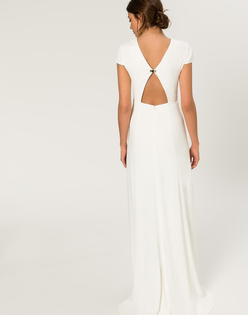 Robe De Mari 233 E Ivy Amp Oak Bridal Cap Sleeve Dress The