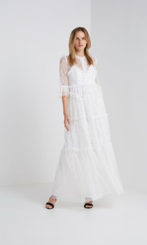 NEEDLE & THREAD - DECONSTRUCTED GOWN - Robe de mariée pas cher - The Wedding Explorer