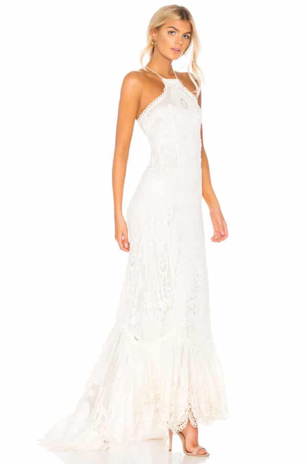 Revolve - Robe de mariée dos nu CASABLANCA - Robe de mariée pas cher - The Wedding Explorer