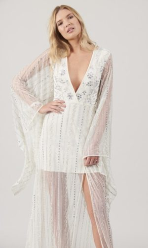 FROCK & FRILL - Clarity Bridal Embellished Mini/Maxi Dress - Robe de mariée pas cher - The Wedding Explorer