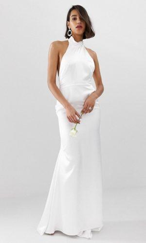 ASOS EDITION - Robe de mariée longue à dos nu ouvert - Robe de mariée pas cher - The Wedding Explorer