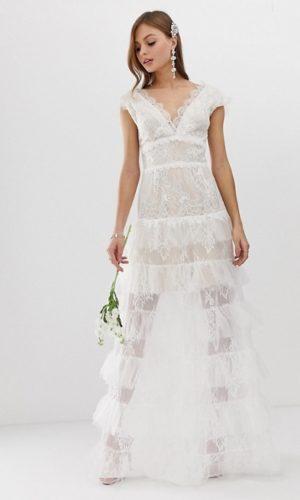 Bronx & Banco - Robe de mariée à volants étagés - Robe de mariée pas cher - The Wedding Explorer