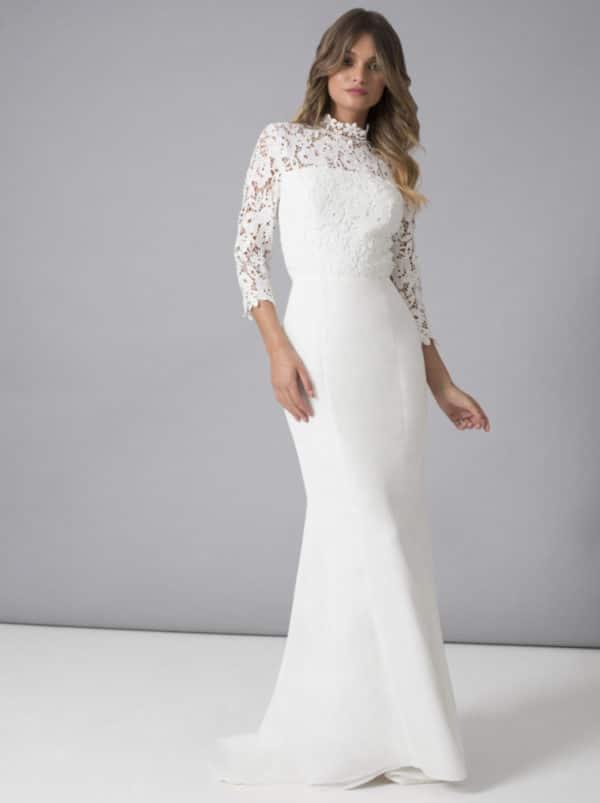 Chi Chi London - Bella Dress - Robe de mariée pas cher - The Wedding Explorer