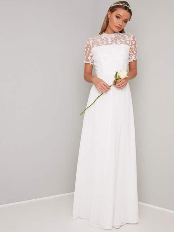 Chi Chi London Petite - Alix Dress - Robe de mariée pas cher - The Wedding Explorer