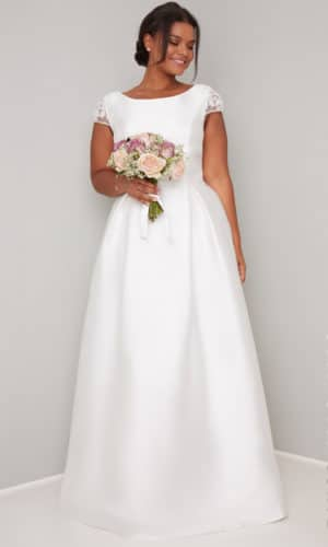 Chi Chi London Curve - Natalie Dress - Robe de mariée pas cher - The Wedding Explorer