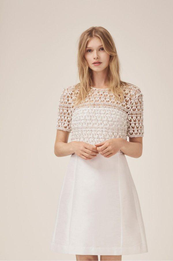 French Connection - Consenza Sparkle Embellished Wedding Dress - Robe de mariée pas cher - The Wedding Explorer