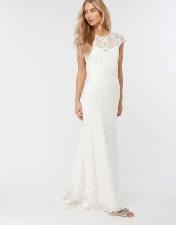 MONSOON - ROBE DE MARIÉE EN DENTELLE MEGHAN - Robe de mariée pas cher - The Wedding Explorer