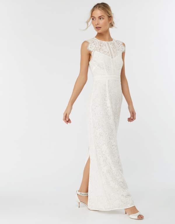 MONSOON - ROBE DE MARIÉE EN DENTELLE LEOMIE - Robe de mariée pas cher - The Wedding Explorer