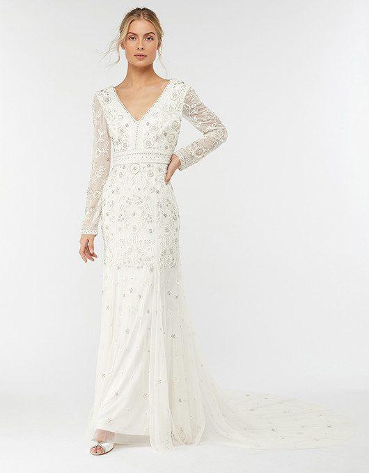 MONSOON - ROBE DE MARIÉE EMBELLIE ELIZABETH - Robe de mariée pas cher - The Wedding Explorer