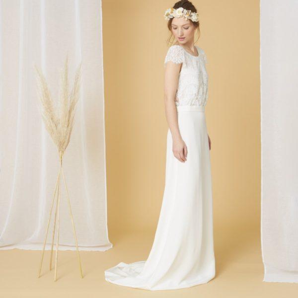 Laure de Sagazan x Monoprix - Robe de mariée - Robe de mariée pas cher - The Wedding Explorer