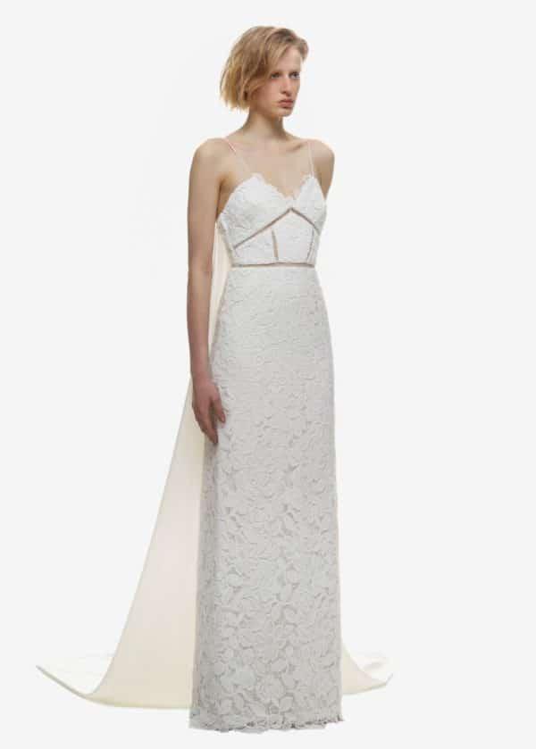 Self Portrait - Angelica bridal dress with cape - Robe de mariée pas cher - The Wedding Explorer