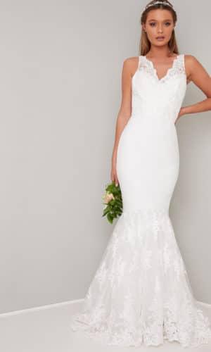 Chi Chi London - Suranne Dress - Robe de mariée pas cher - The Wedding Explorer