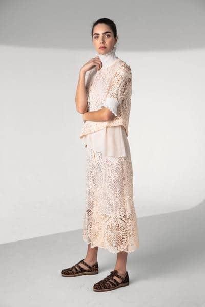 Heimstone - Bermuda Doll en dentelle végétale - Robe de mariée pas cher - The Wedding Explorer