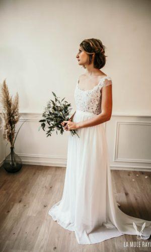 Robe de mariée Zoé - Madame a dit Oui - Robe de mariée Etsy - Robe de mariée pas cher - The Wedding Explorer