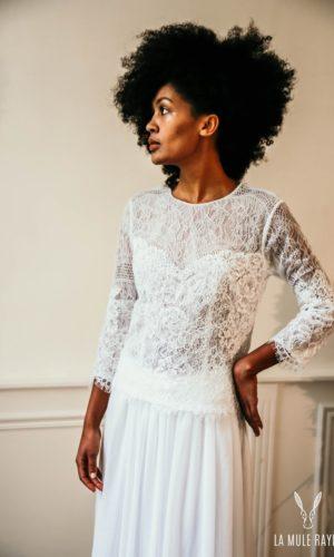 Robe de mariée Alice - Madame a dit Oui - Robe de mariée Etsy - Robe de mariée pas cher - The Wedding Explorer