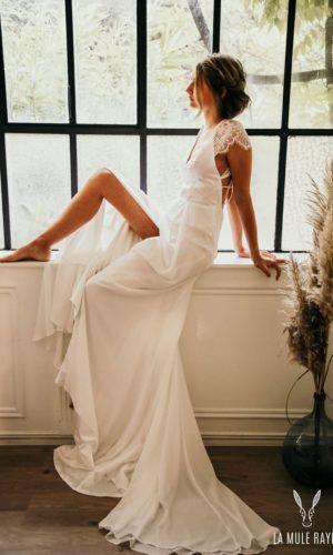 Robe de mariée Fanny - Madame a dit Oui - Robe de mariée Etsy - Robe de mariée pas cher - The Wedding Explorer