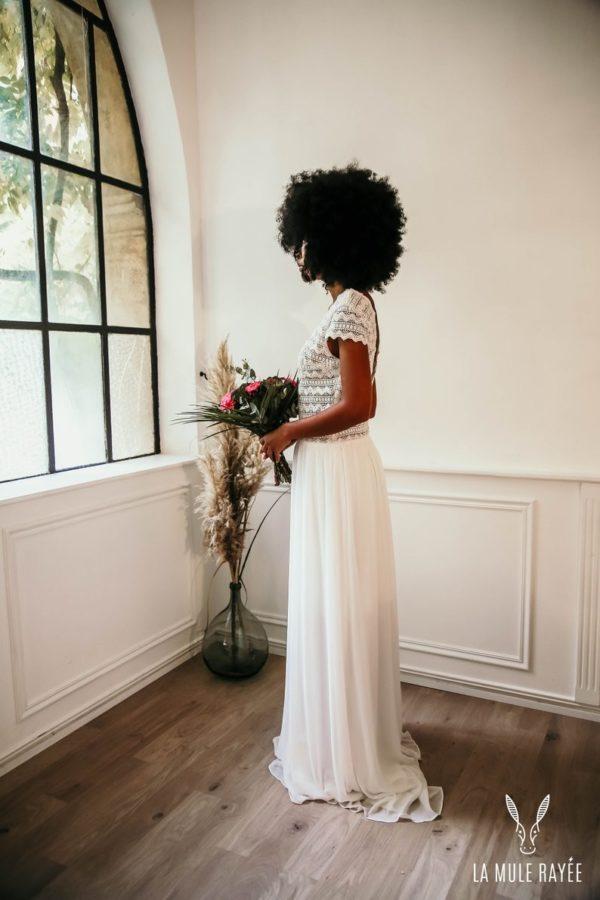 Robe de mariée Vicki - Madame a dit Oui - Robe de mariée Etsy - Robe de mariée pas cher - The Wedding Explorer