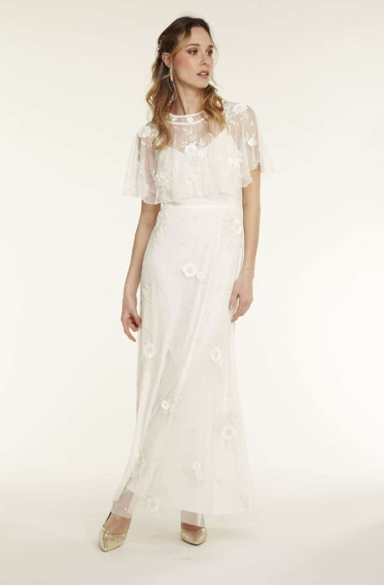Robe de mariée NAF NAF - Robe de mariée perlé