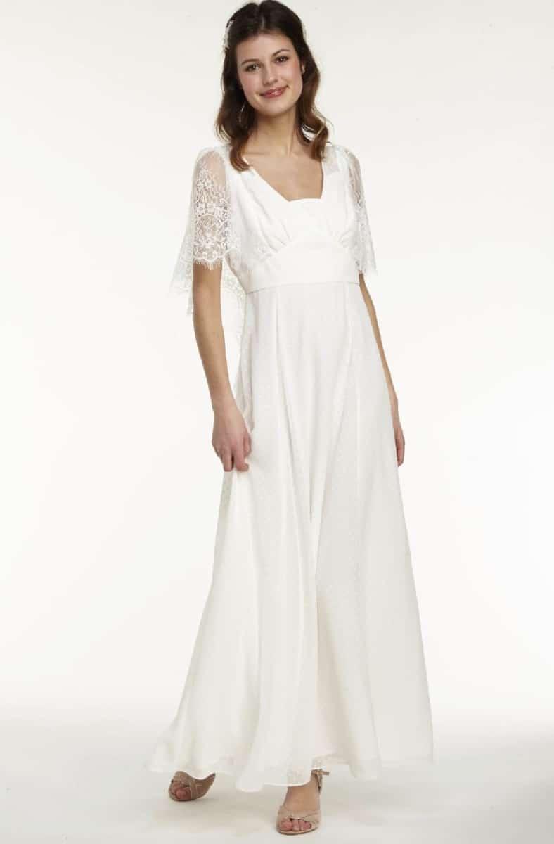 Robe de mariée NAF NAF - Robe de mariée manches