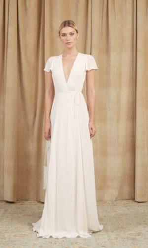 Reformation - Rosey Dress - Robe de mariée pas cher - The Wedding Explorer