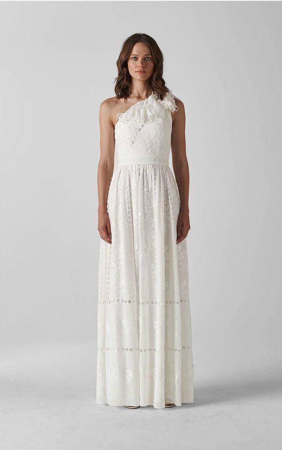 Whistles - Adelaide Wedding Dress - Robe de mariée pas cher - The Wedding Explorer