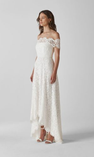 Whistles - Rose Wedding Dress - Robe de mariée pas cher - The Wedding Explorer