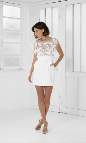 Rime Arodaky - Robe Baker - Robe de mariée pas cher - The Wedding Explorer