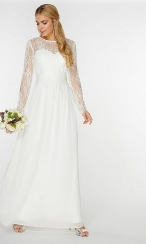 Dorothy Perkins - Robe de mariée Rosaline - Robe de mariée pas cher - The Wedding Explorer