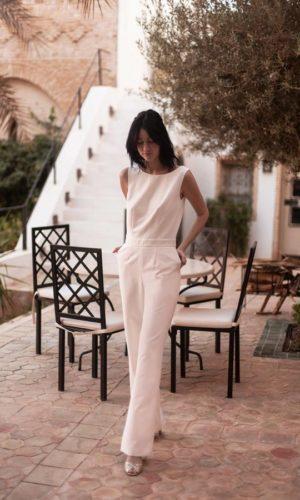Maison Lemoine - Combinaison Joséphine - Robe de mariée pas cher - The Wedding Explorer