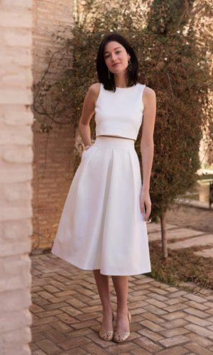 Maison Lemoine - Jupe Ella Jersey - Robe de mariée pas cher - The Wedding Explorer