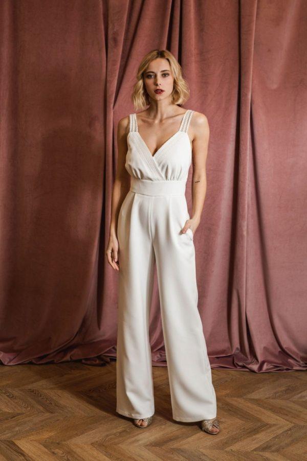 Harpe Paris - La combinaison l'originale - Robe de mariée pas cher - The Wedding Explorer