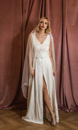 Harpe Paris - Robe l'amoureuse - Robe de mariée pas cher - The Wedding Explorer
