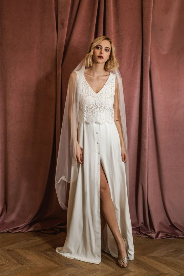 Harpe Paris - Robe l'amoureuse - Robe de mariée pas cher - The Wedding Explorer