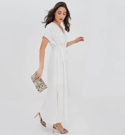 Promod - Robe longue ELEONOR - Robe de mariée pas cher - The Wedding Explorer