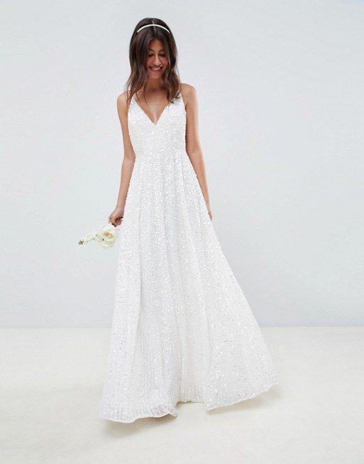 Robe de mariée ASOS - Robe de mariage orné