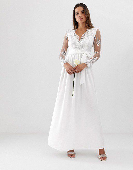 Robe de mariée ASOS - Club L - Robe de marié
