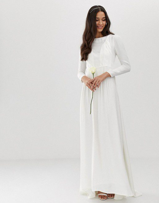ASOS - Robe de mariage aspect tressé - Robe de mariée pas cher - The Wedding Explorer