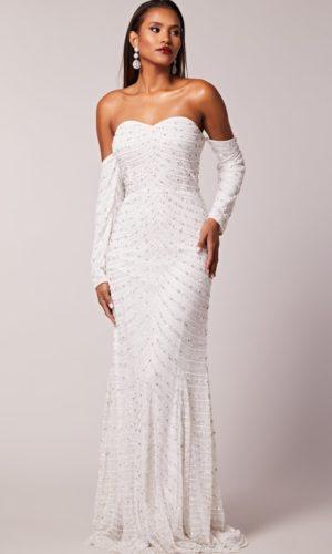 Virgos Lounge - Estela Bridal Dress - Robe de mariée pas cher - The Wedding Explorer