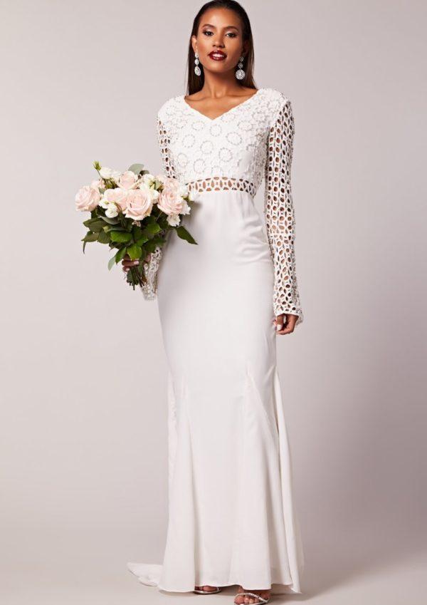 Virgos Lounge - Mariana Wedding Dress - Robe de mariée pas cher - The Wedding Explorer